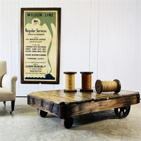 Rolling Mill Carts / Coffee Tables