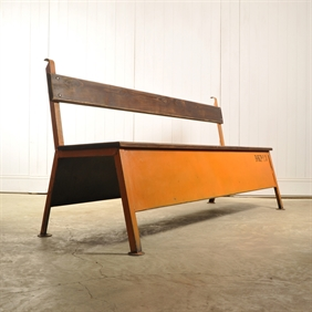 Vintage Factory Bench