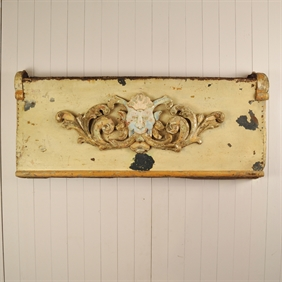 Antique Carousel Panel
