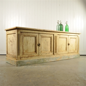 19th Century Painted Sideboard