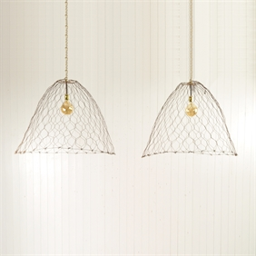 Large Wire Cloche Lights