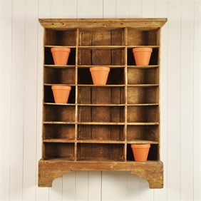 Vintage Display Shelves