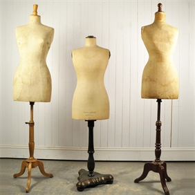 Antique French Mannequins circa 1930's