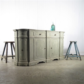 Painted Italian Sideboard