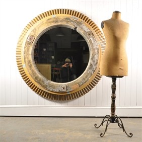 Huge Pattern Casting Mirror