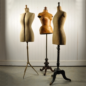 Unusual Antique French Mannequins early 20 th Century