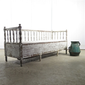 19th Century Swedish Bench