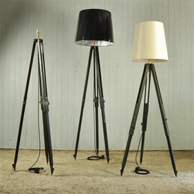 Ex Army Tripod Lamps