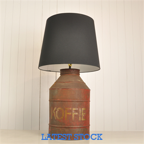 Koffie Tin Table Lamp