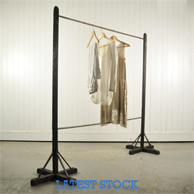 Vintage Clothes Hanging Rail