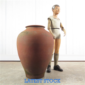 20th Century Terracotta Pot