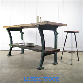 Factory Workbench / Console Table