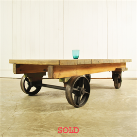 Foundry Cart / Coffee Table