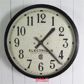 Vintage Industrial Clock