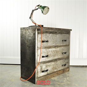 1940's Steel Chest of Drawers