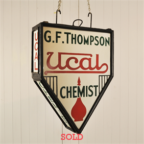 1930's Pharmacy Sign