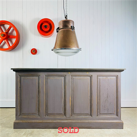 Painted French Counter / Bar