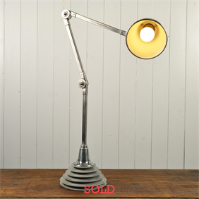 Invisaflex Industrial Table Lamp
