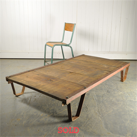Vintage Factory Tannery / Coffee Table