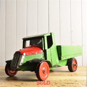 1940's Toy Truck and Trailer