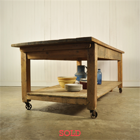 Large Workbench / Kitchen Island