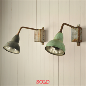 1930's Brevete SGDG Wall Lights