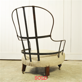 Victorian Iron Back Chair no.2