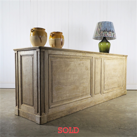 Italian Oak Counter