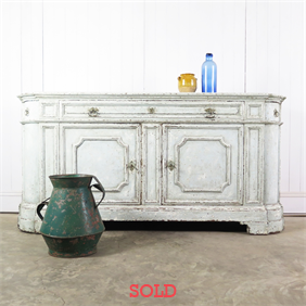 Painted Flemish Sideboard