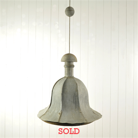 19th Century Finial Pendant Light