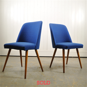 A pair of German Cocktail Chairs