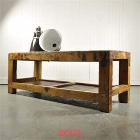 Vintage Spanish Industrial Table