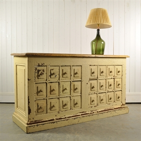 19th Century Multi Drawer Counter