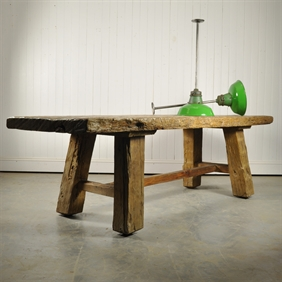 Very Chunky Wooden Table