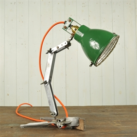 1940's Mechanics Lamp