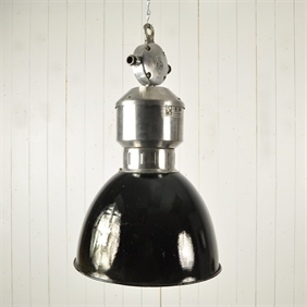 Unusual Czech Industrial Pendant Lights