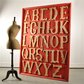 Large Alphabet Board