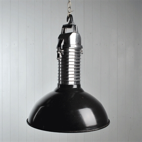 Large Reclaimed Philips Factory Light