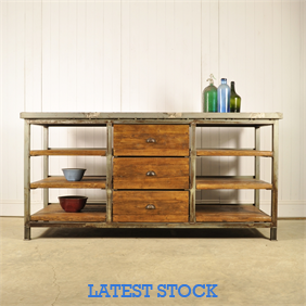 Open Shelved Industrial Unit
