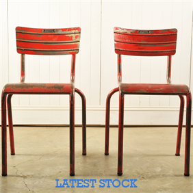 Pair of French Ministry Chairs