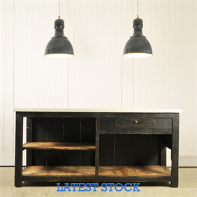 Circa 1900  Sideboard with Micro Cement Top