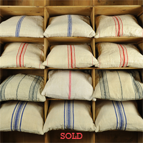 Vintage Hungarian Linen Cushions