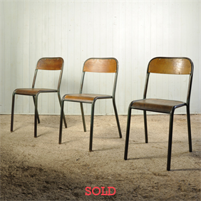 Mid 20th Century Tubular Chairs