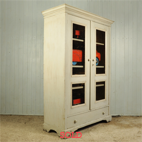 Turn of the Century French Linen Cupboard
