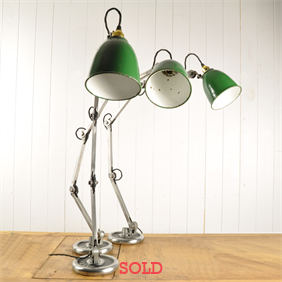 Vintage Machinist Lamps