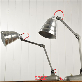 Mid 20 th Century 'Memlite' Ali Desk Lamp