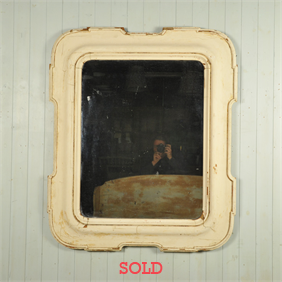 Unusual 19th Century French Mirror