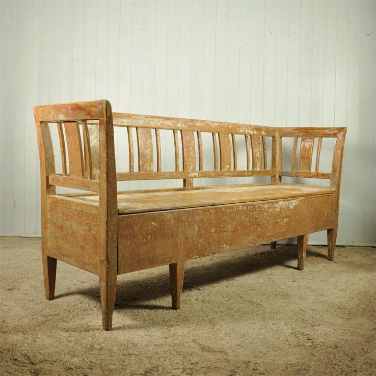 Late 18th Century Swedish Bench Vintage Swedish