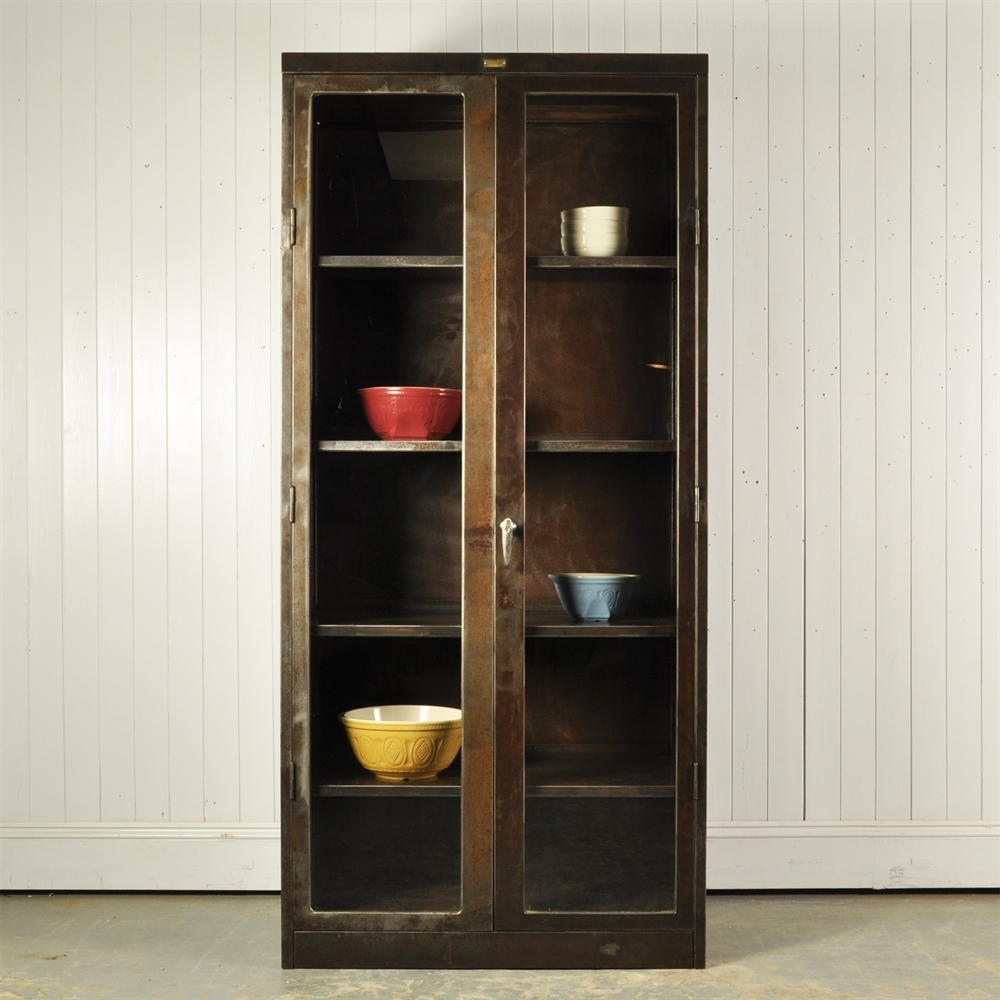 Vintage Steel Furniture Intended Polished Steel Cabinet Original House Vintage Industrial Furniture And Lighting Decorative Antiques