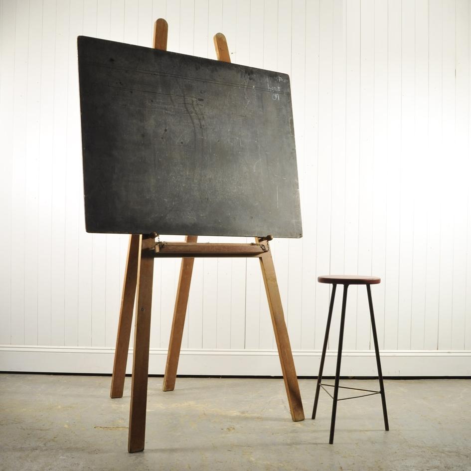 Free Standing Victorian Blackboard Vintage Accessories